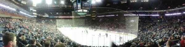 Nationwide Arena, secção: 111, fila: S, lugar: 8