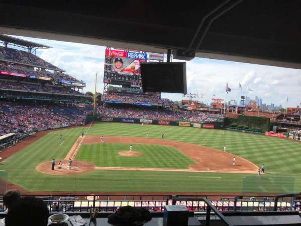 Citizens Bank Park, secção: Suite 43, fila: 2, lugar: 3