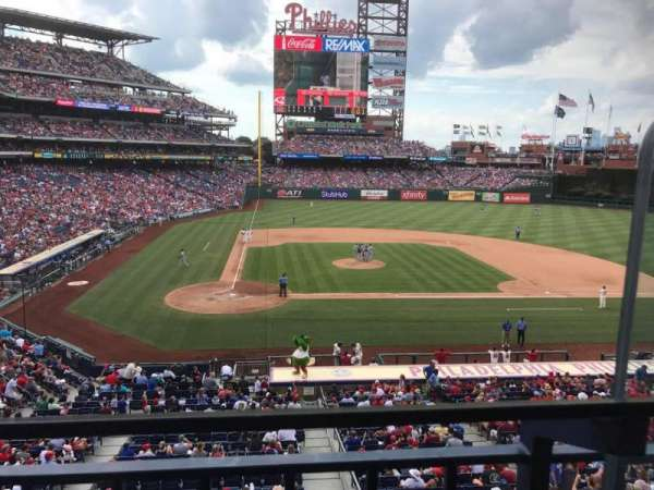 Citizens Bank Park, secção: Suite 43, fila: 1, lugar: 2