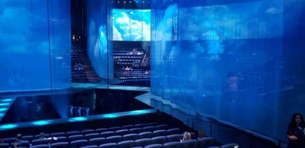 Love Theatre - The Mirage, secção: 207, fila: o, lugar: 5