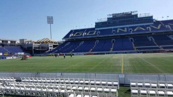 Navy-Marine Corps Memorial Stadium, secção: 27, fila: E, lugar: 1