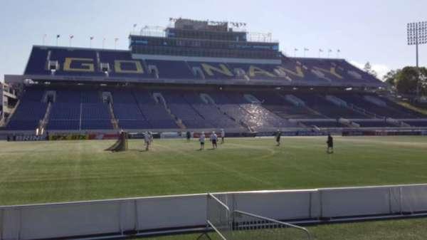 Navy-Marine Corps Memorial Stadium, secção: 31, fila: E, lugar: 1