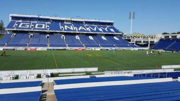 Navy-Marine Corps Memorial Stadium, secção: 6, fila: 15, lugar: bleachers