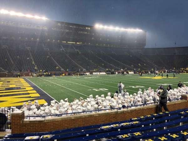 Michigan Stadium, secção: 6, fila: 9, lugar: 26