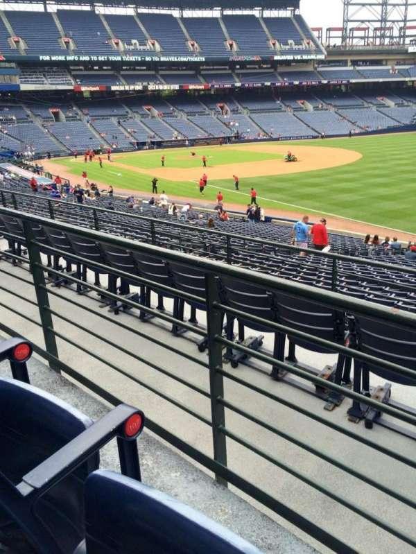 Turner Field, secção: 225, fila: 2, lugar: 105