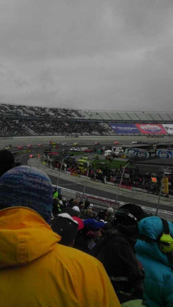 Dover International Speedway, secção: 110, fila: 23, lugar: 3