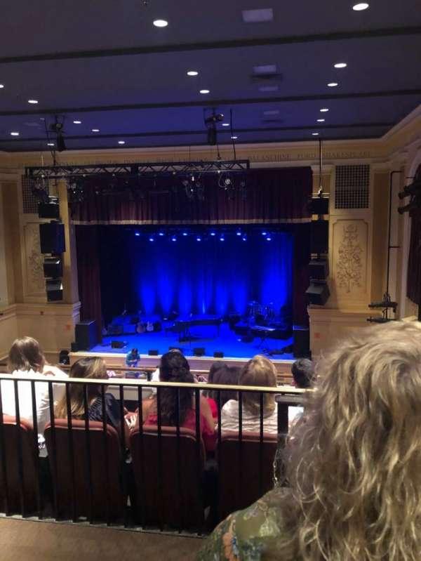Ridgefield Playhouse, secção: Balcony, fila: E, lugar: 2