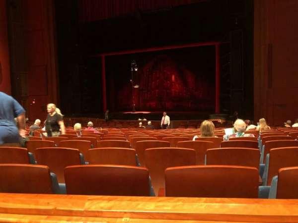 Au-Rene Theatre at the Broward Center, secção: OrchR, fila: Y, lugar: 14