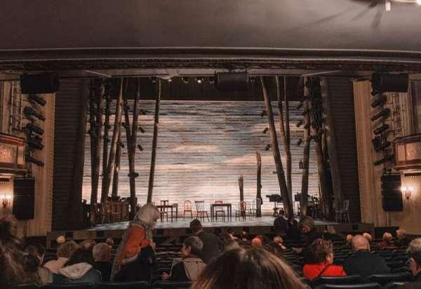 Comedy Theatre, secção: STALLS, fila: P, lugar: 18