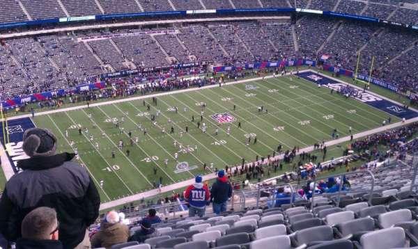 MetLife Stadium, secção: 343, fila: 28, lugar: 10