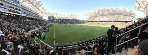 Banc of California Stadium, secção: 125, fila: J, lugar: 3