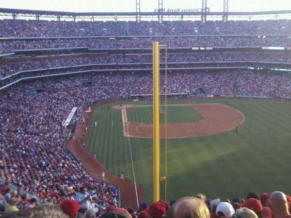 Citizens Bank Park, secção: 305, fila: 13, lugar: 15