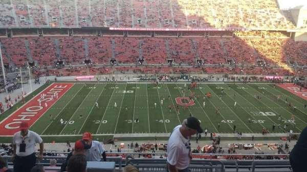 Ohio Stadium, secção: 19C, fila: 12, lugar: 13