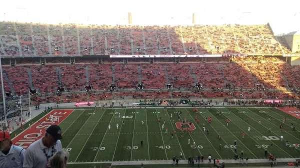Ohio Stadium, secção: 19C, fila: 10, lugar: 13