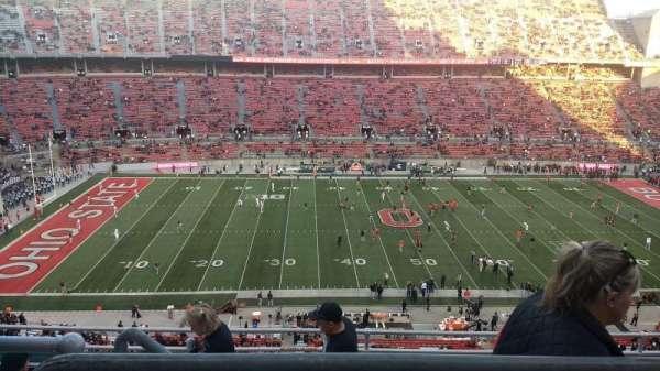Ohio Stadium, secção: 19C, fila: 8, lugar: 13