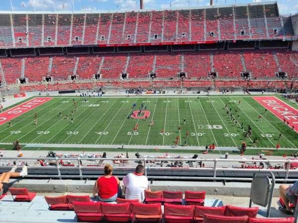 Ohio Stadium, secção: 21C, fila: 7, lugar: 32