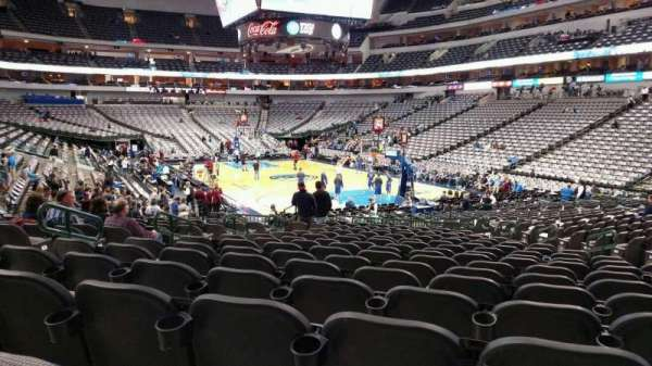 American Airlines Center, secção: 114, fila: R, lugar: 12