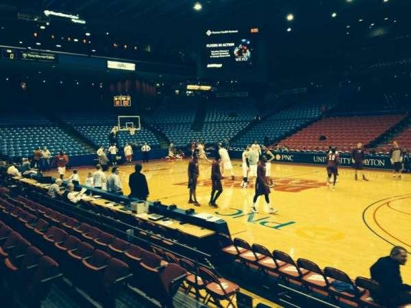University Of Dayton Arena, secção: 103, fila: E, lugar: 8