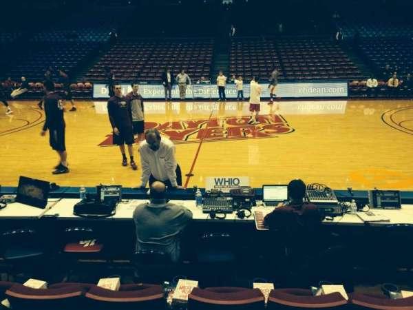 University Of Dayton Arena, secção: 112, fila: D, lugar: 16