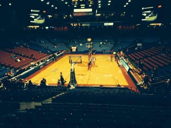 University Of Dayton Arena, secção: 212, fila: K, lugar: 10