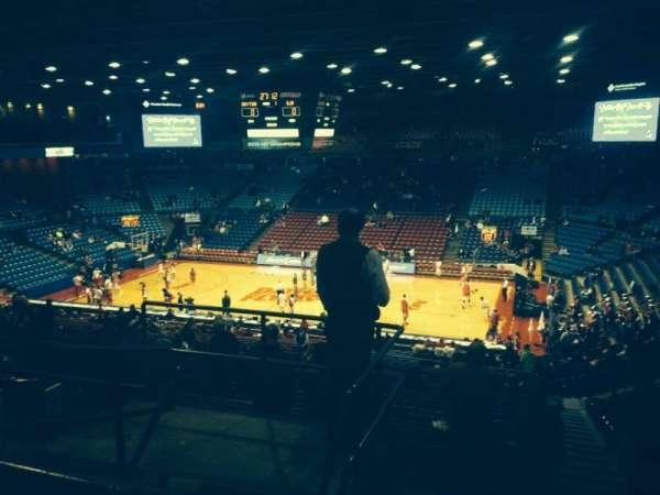 University Of Dayton Arena, secção: 309, fila: F, lugar: 12