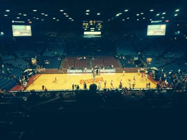 University Of Dayton Arena, secção: 311, fila: H, lugar: 11