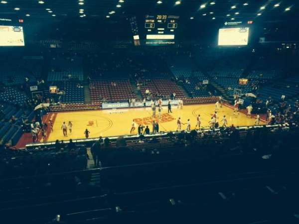 University Of Dayton Arena, secção: 312, fila: D, lugar: 9