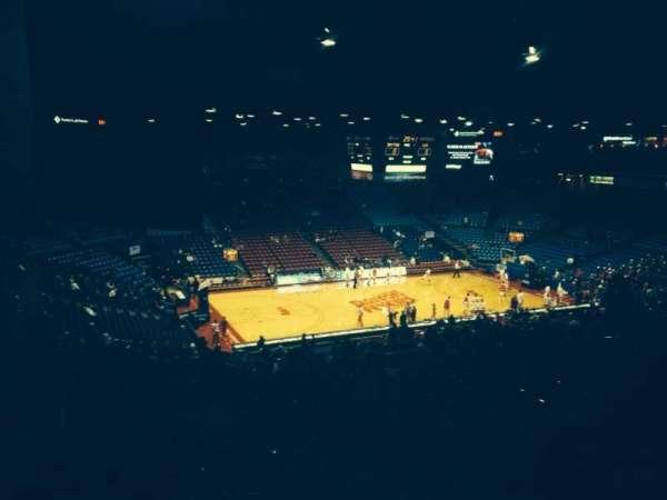 University Of Dayton Arena, secção: 314, fila: M, lugar: 3