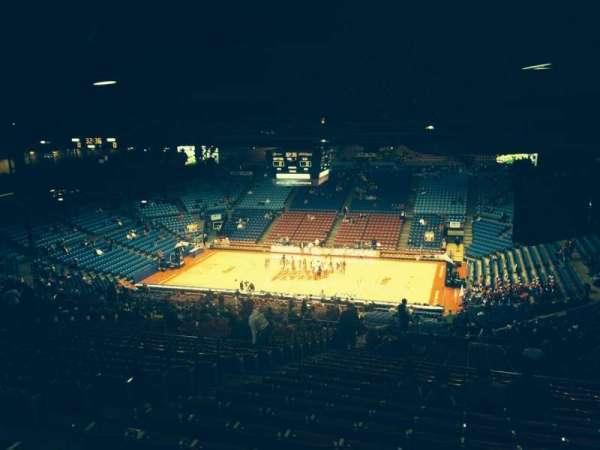 University Of Dayton Arena, secção: 409, fila: L, lugar: 10