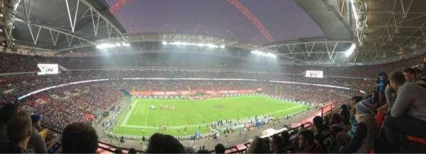 Wembley Stadium, secção: 529, fila: 04, lugar: 088