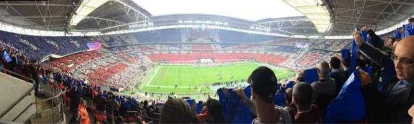 Wembley Stadium, secção: 503, fila: 12, lugar: 67