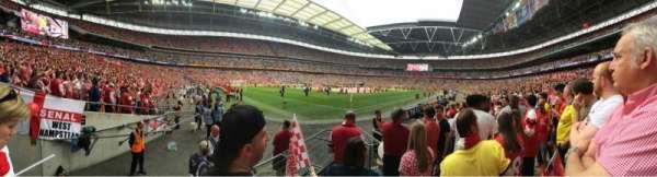 Wembley Stadium, secção: 128, fila: 6, lugar: 182