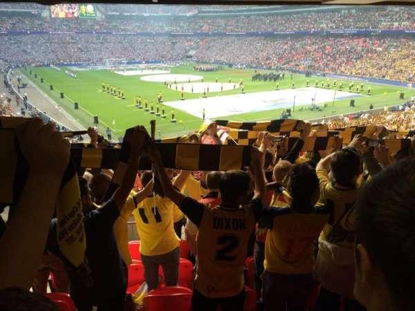 Wembley Stadium, secção: 115, fila: 44, lugar: 97