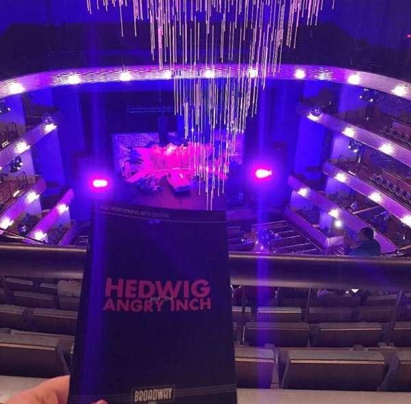 Winspear Opera House, secção: UGT C, fila: H, lugar: 18