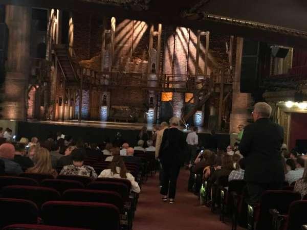 CIBC Theatre, secção: ORCH R C, fila: X, lugar: 121
