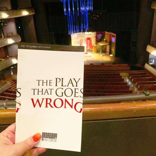 Winspear Opera House, secção: Dress Circle Center, fila: A, lugar: 34