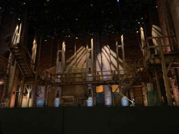 CIBC Theatre, secção: Orchestra C, fila: E, lugar: 110