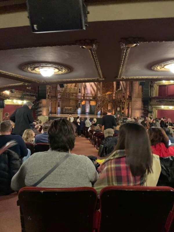 CIBC Theatre, secção: Orchestra C, fila: Y, lugar: 101