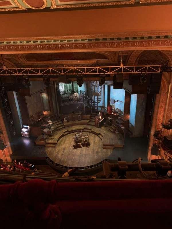 Walter Kerr Theatre, secção: Balcony R, fila: A, lugar: 10