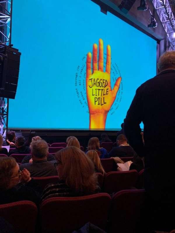 Broadhurst Theatre, secção: ORCHO, fila: H, lugar: 13
