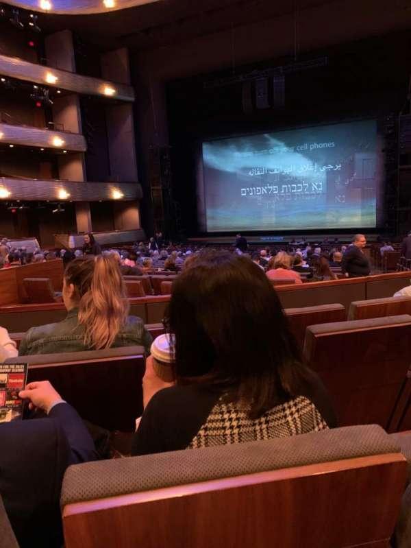 Winspear Opera House, secção: OTERRR, fila: W, lugar: 4