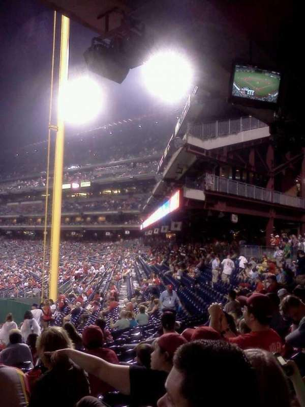 Citizens Bank Park, secção: 142, fila: 23, lugar: 15