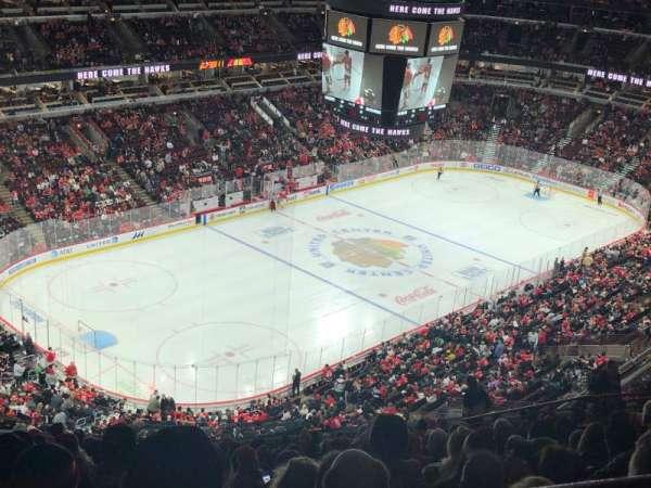 United Center, secção: 322, fila: 17, lugar: 13