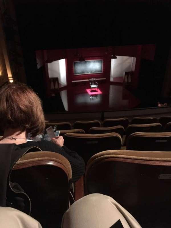 Samuel J. Friedman Theatre, secção: Ctr mezz, fila: C, lugar: 102