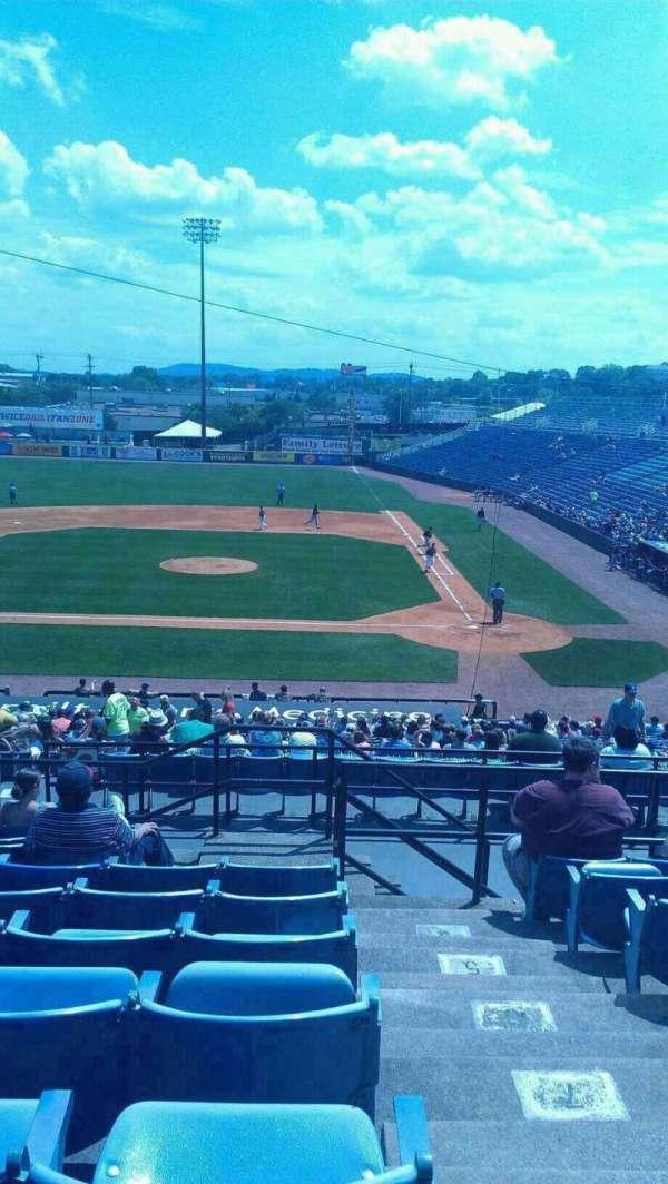 Herschel Greer Stadium, secção: RR, fila: 11, lugar: 15