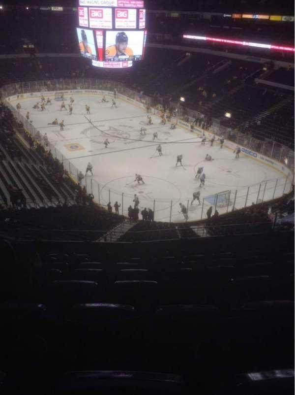 Bridgestone Arena, secção: 315, fila: K, lugar: 11