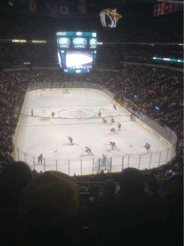 Bridgestone Arena, secção: 317, fila: G, lugar: 16