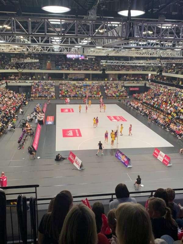 Copper Box Arena, secção: 208, fila: 16, lugar: 69