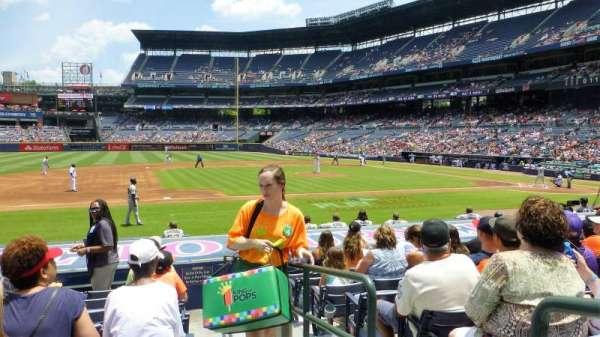 Turner Field, secção: 114L, fila: 13, lugar: 101