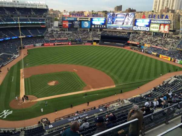 Yankee Stadium, secção: 407, fila: 1, lugar: 5